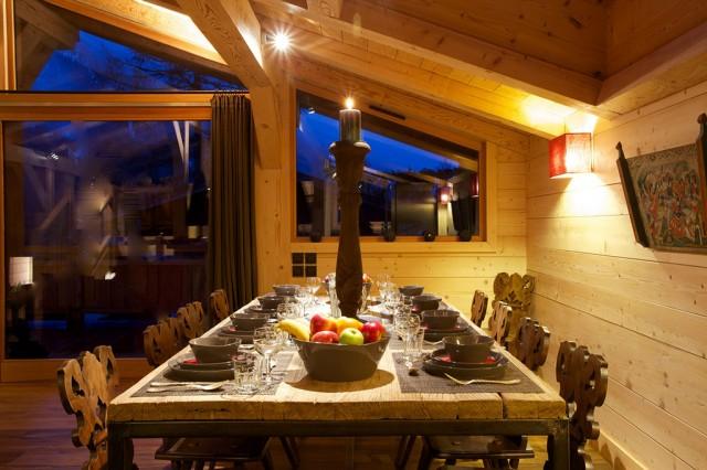 Chalet Ardoise Chamonix pour évènement d'entreprise ou privé