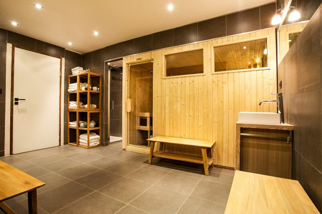 Chalet with sauna in Chamonix for private event
