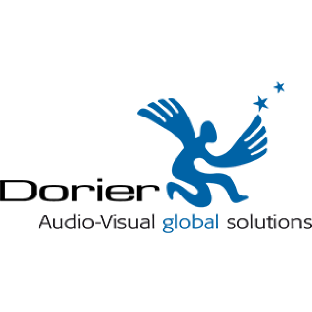 Dorier Group • An event audiovisual experience company Logo