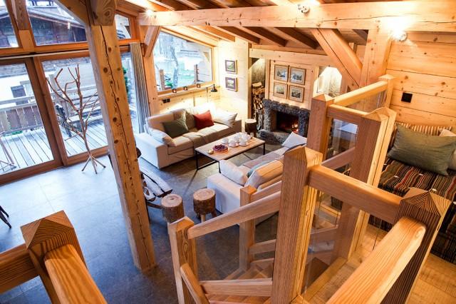 Salon Granit pour évènement à Chamonix