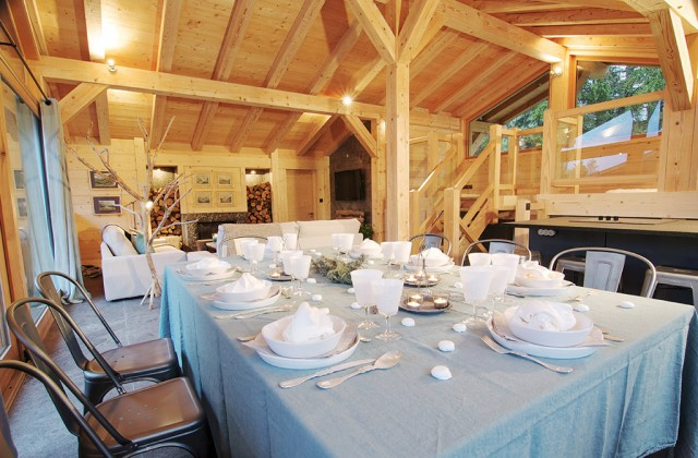 Chalet catering in Chamonix for private event