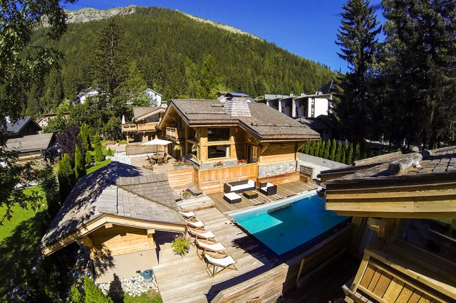 Chalet Terre Chamonix for corporate and private event