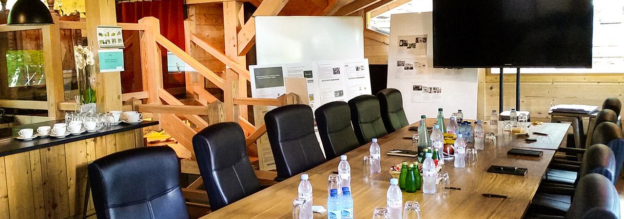 Salon Ardoise pour évènement à Chamonix