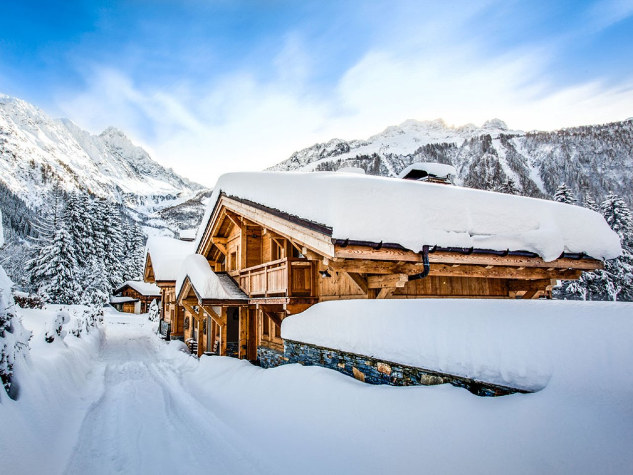 Stay at the foot of  Grands Montets