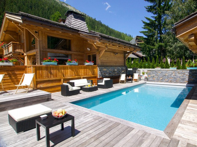 Chalet avec piscine Chamonix pour évènement privé
