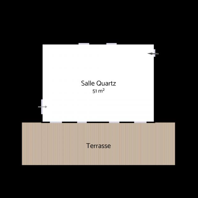 Plan salle Quartz