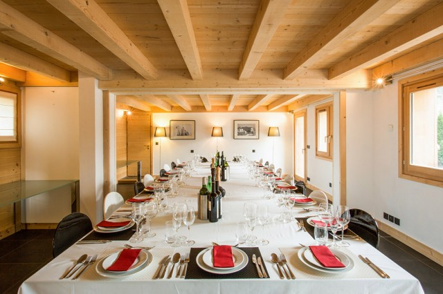 Chalet Quartz Chamonix for corporate and private event