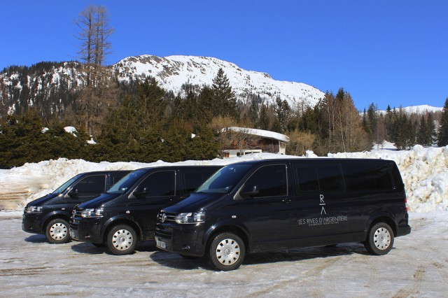Chalet transport in Chamonix for private event