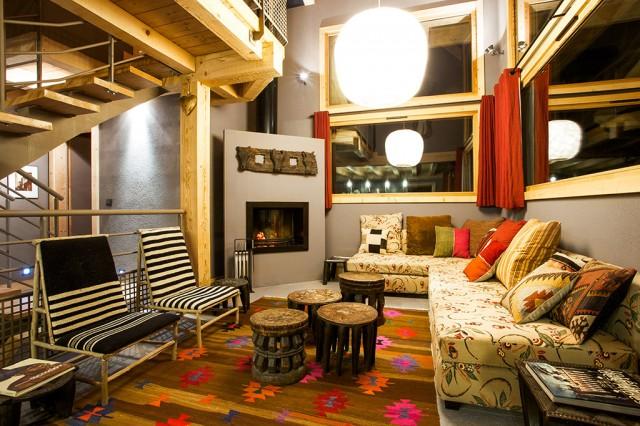 Salon Safari pour évènement à Chamonix
